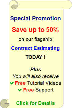 half price electrical estimating software promotion